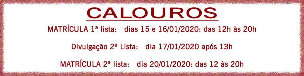calouros 2020-1